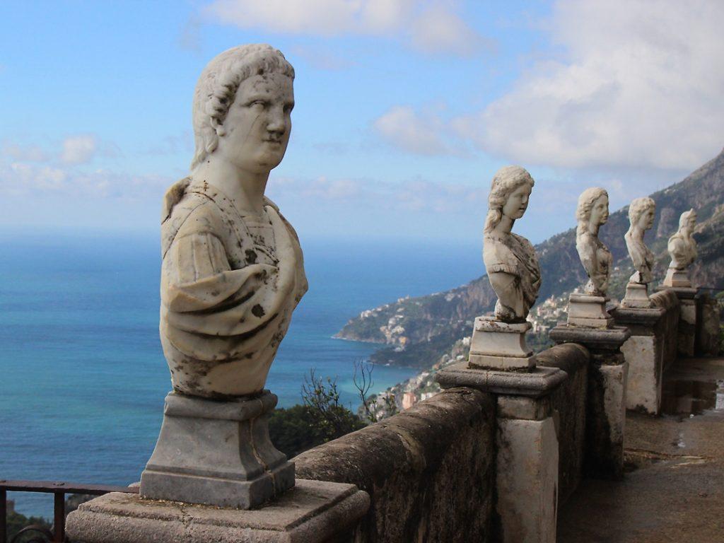 Villa Cimbrone Ravello Amalfi Coast Italy Carol Ketelson Delectable Destinations Culinary Tours