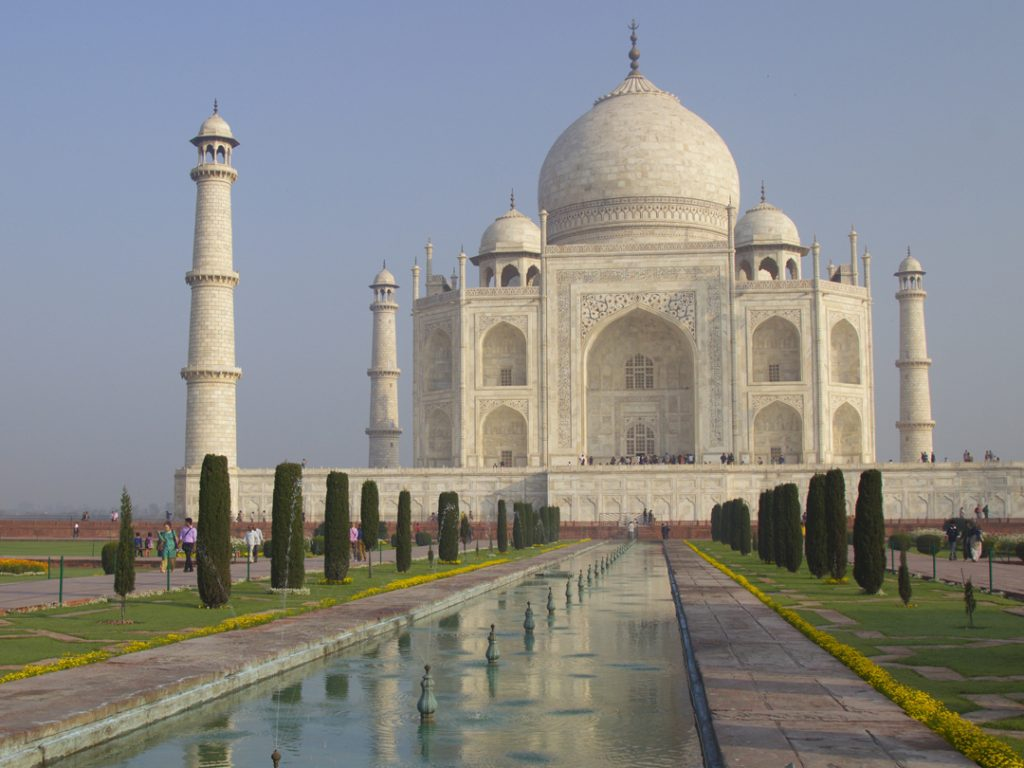 Taj Mahal Agra India Carol Ketelson Delectable Destinations Culinary Tours