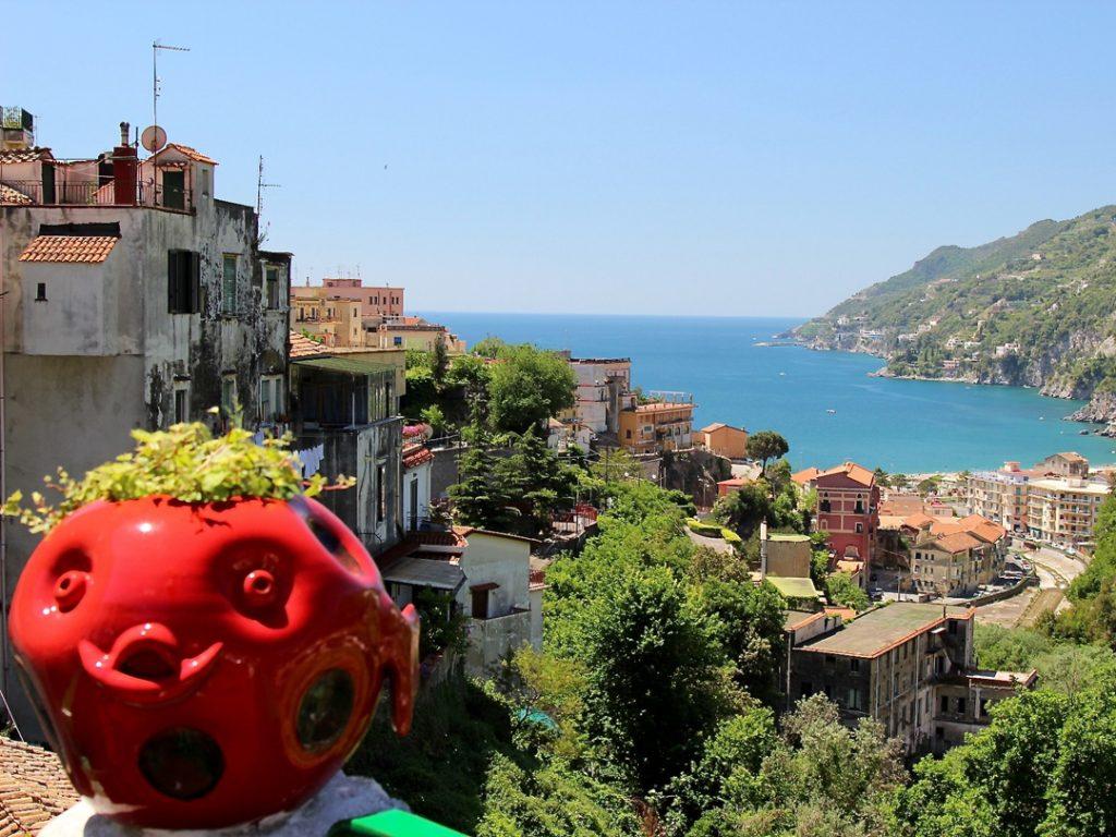 ceramics Vietri Sul Mare Amalfi Coast Italy Carol Ketelson Delectable Destinations Culinary Tours
