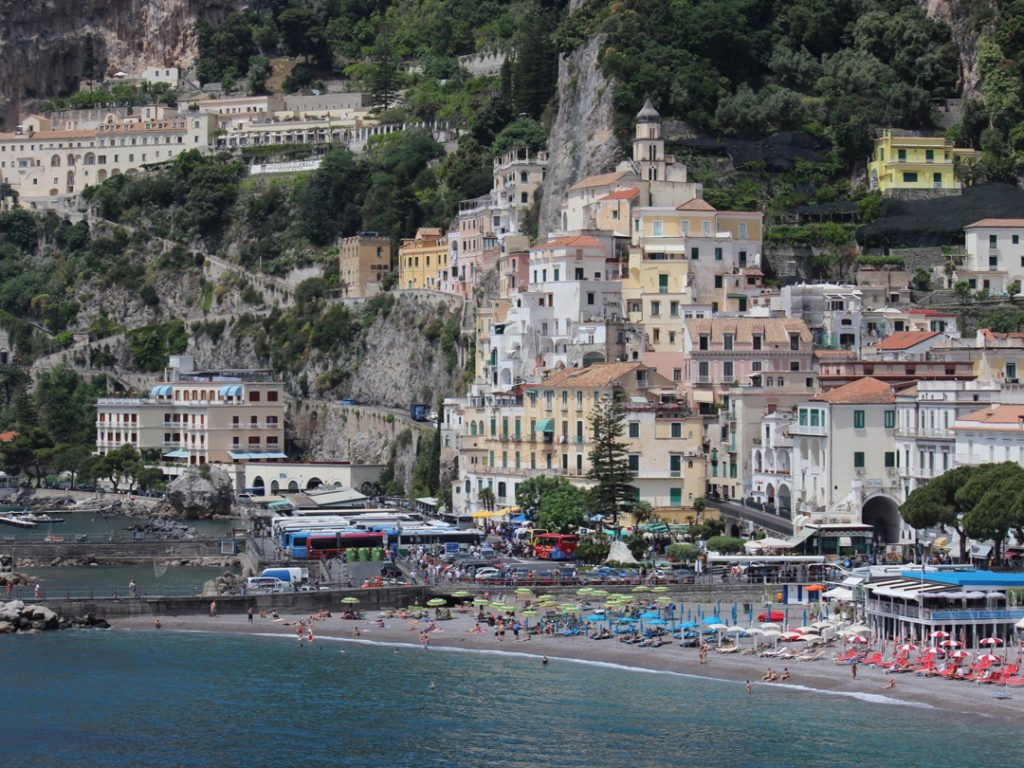 Town of Amalfi Italy Carol Ketelson Delectable Destinations Culinary Tours