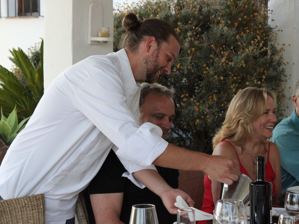 private chef David fine dining Andalucia Spain Carol Ketelson Delectable Destinations Culinary Tours