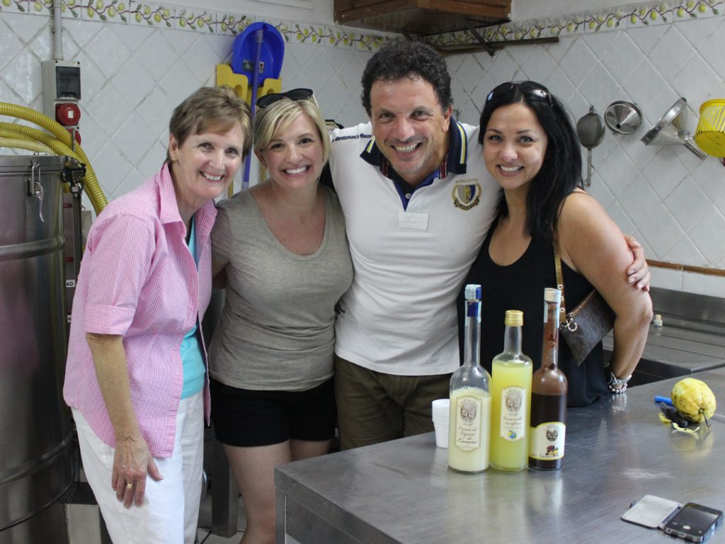 making limoncello Amalfi Coast Italy Carol Ketelson Delectable Destinations Culinary Tours