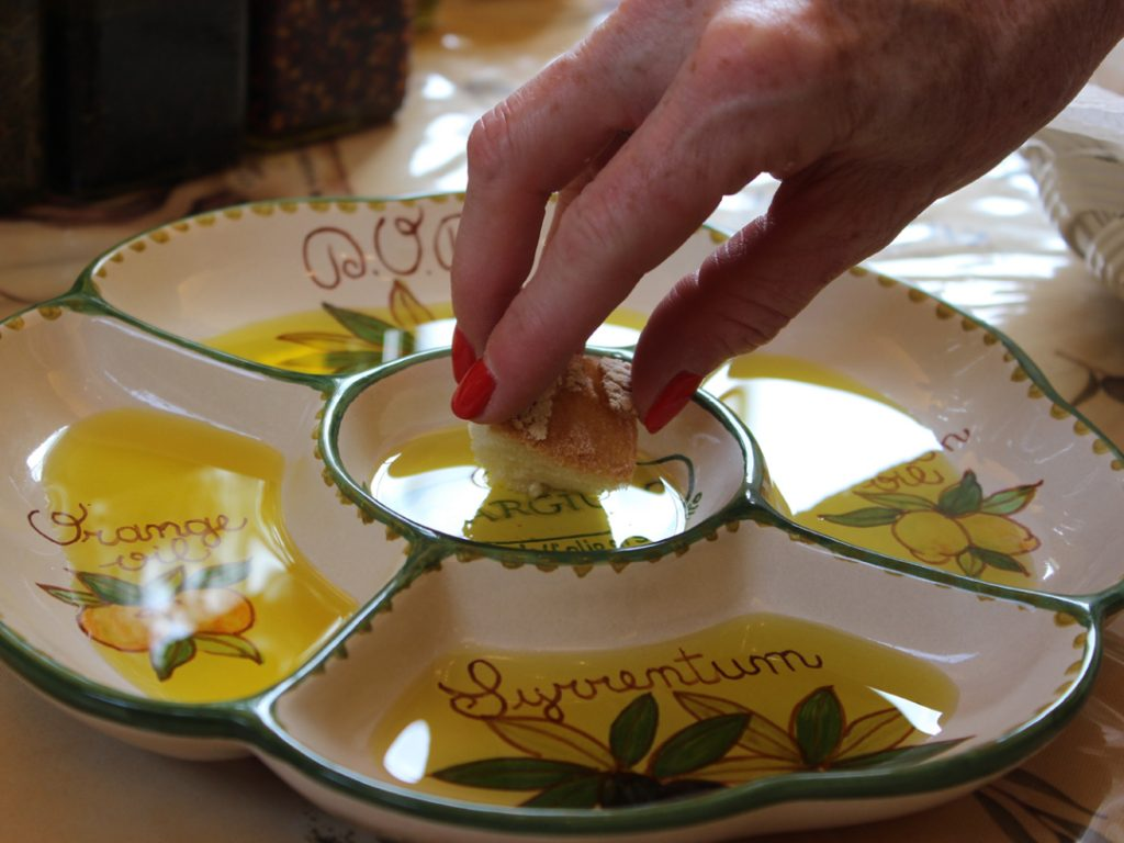 olive oil tasting Amalfi Coast Italy Carol Ketelson Delectable Destinations Culinary Tours