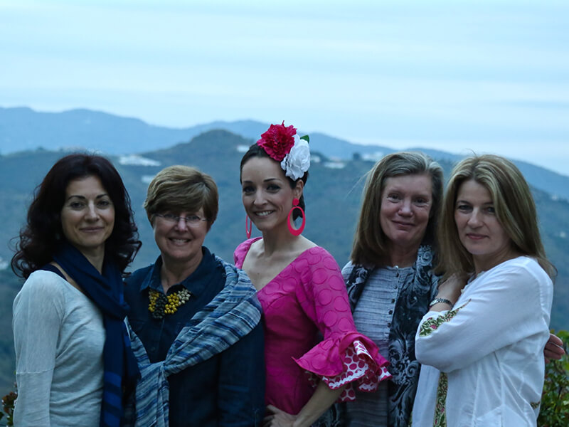 Flamenco Night at El Carligto in Andalucia Spain Carol Ketelson Delectable Destinations Culinary Tours