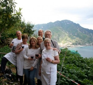 View from Mamma Agata Ravello Amalfi Coast Italy Delectable Destinations Culinary Tour