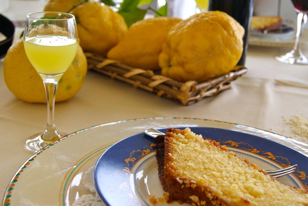 Mamma Agata's Famous Lemon Cake Mamma Agata's Cooking School on the Amalfi Coast Delectable Destinations Culinary Tour