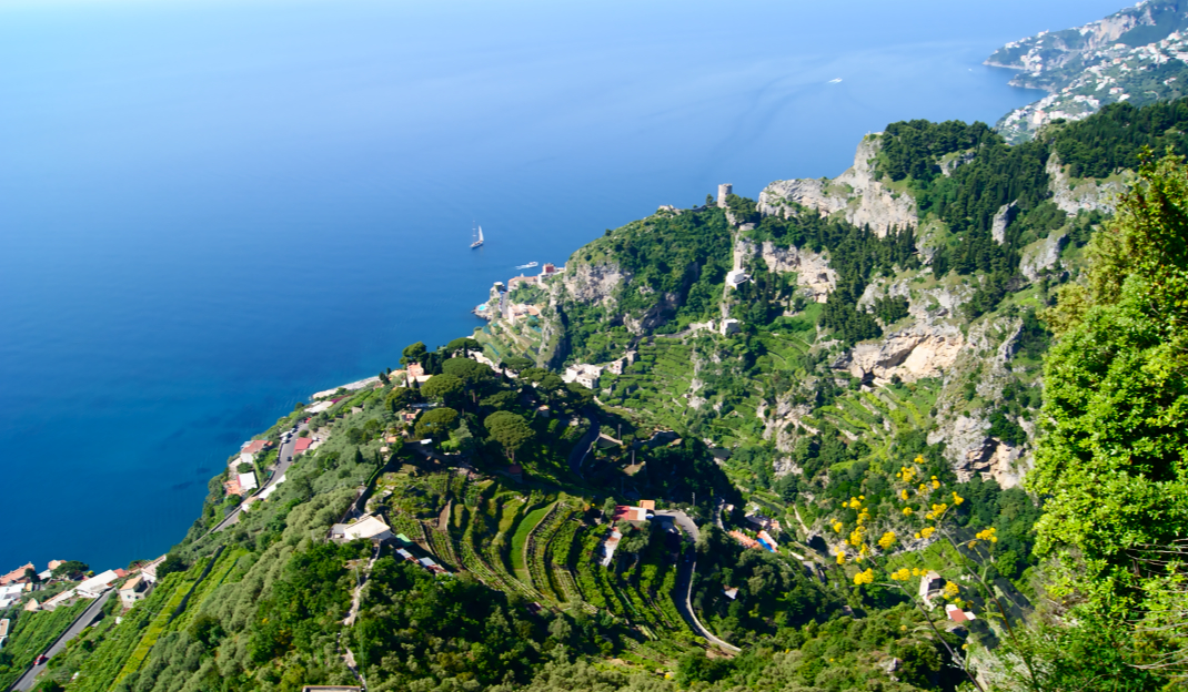 The Agata Family's Backyard Mamma Agata's Cooking School on the Amalfi Coast Delectable Destinations Culinary Tour