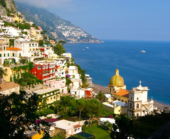 View of Positano Delectable Destinations Amalfi Coast Culinary Adventure Carol Ketelson