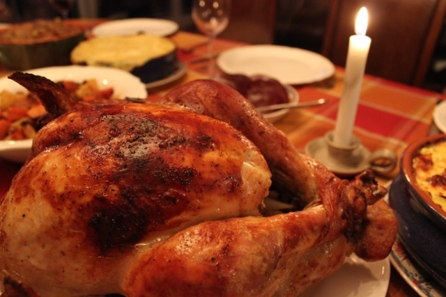 Thanksgiving dinner Delectable Destinations Carol Ketelson