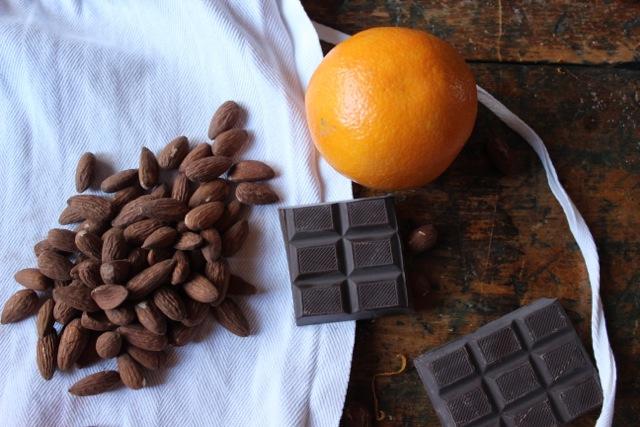 Ingredients for Orange Amaretto Biscotti