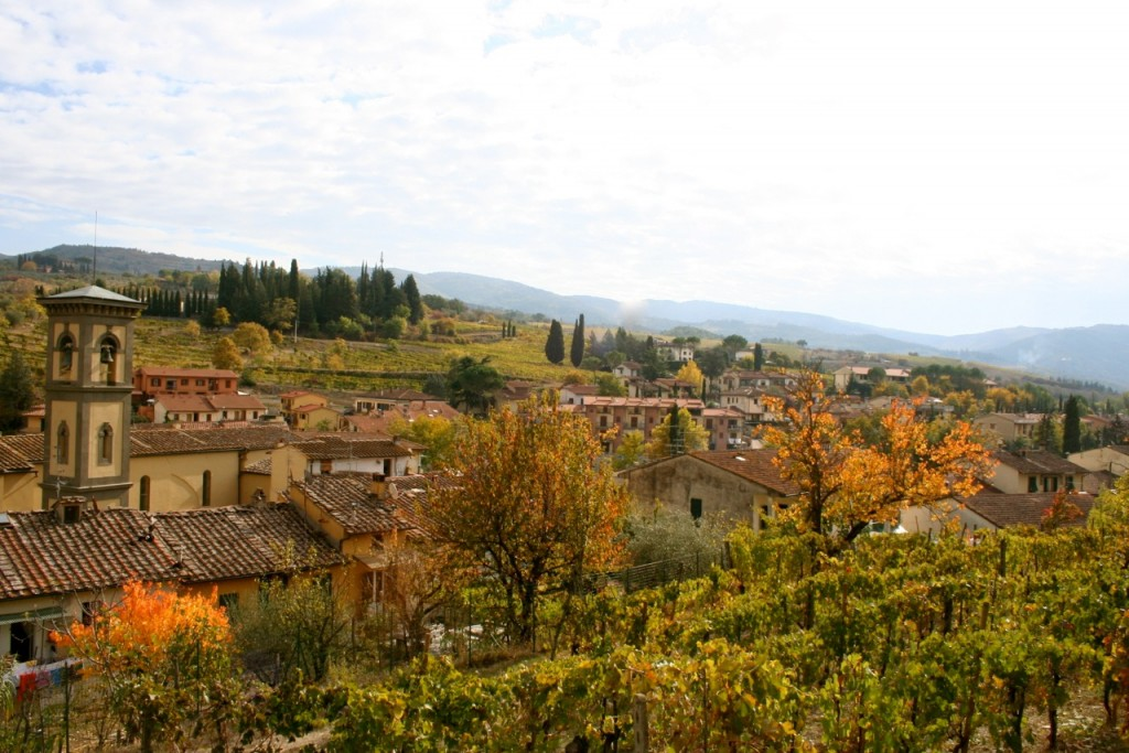 The rolling hills of Tuscany - Celebrating Milestones Italy - Delectable Destinations Culinary Tours - Carol Ketelson