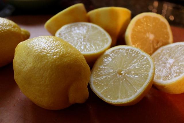 Fresh lemons - Mamma Agata's Famous Lemon Cake