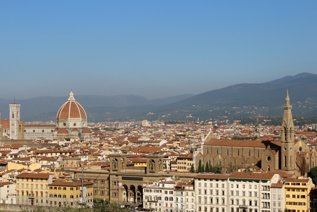View the Duomo and city of Florence - Italian Vacation - Delectable Destinations Culinary Tours - Carol Ketelson