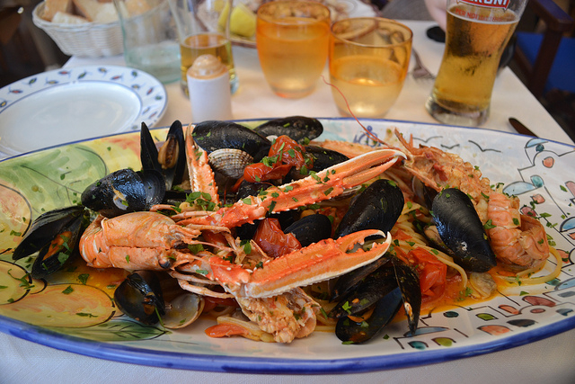 Delicious Seafood - Amalfi Coast, Travel, Shopping, Food - Delectable Destinations Culinary Tours - Carol Ketelson