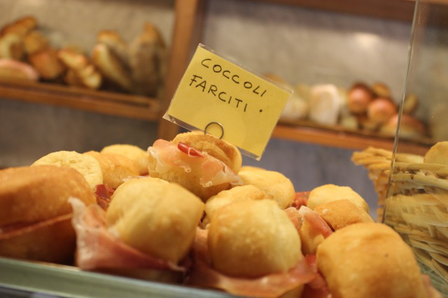 Pastries in Florence - Coccoli Farciti - Tuscany Culinary Adventure Lifetime - Delectable Destinations Culinary Tours - Carol Ketelson