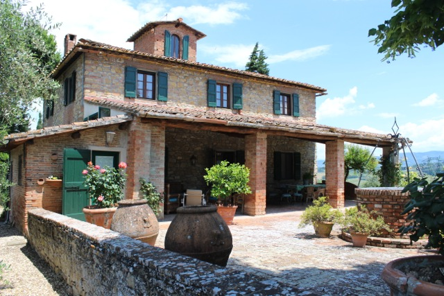 Rustic Tuscan Villa la Quercia - Tuscany Culinary Adventure Lifetime - Delectable Destinations Culinary Tours - Carol Ketelson