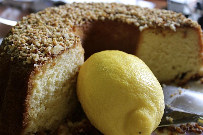 Mamma Agata's Famous Lemon Cake - Lemons lemon trees limoncello - Delectable Destinations Culinary Tours - Carol Ketelson