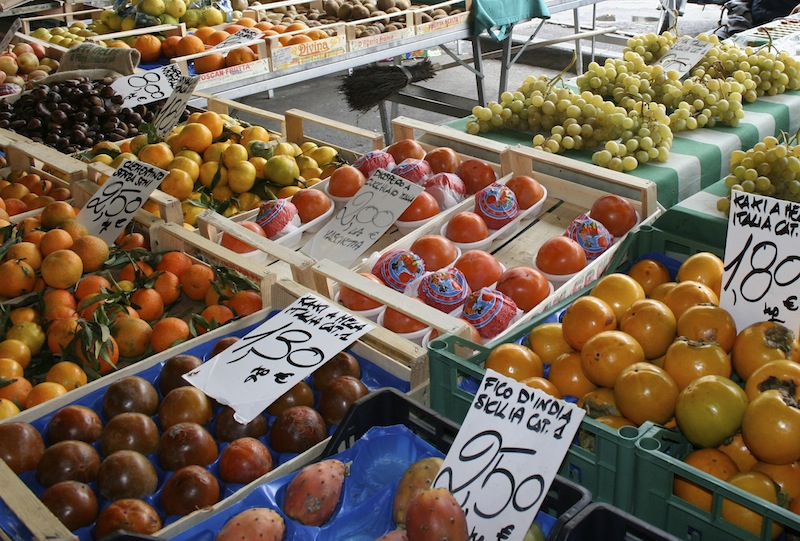 Tuscan Market - Italian markets freshest ingredients - Delectable Destinations - Carol Ketelson