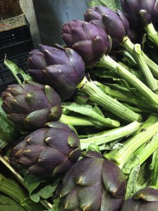 Tuscan Artichocks - Italian markets freshest ingredients - Delectable Destinations - Carol Ketelson