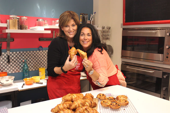 Creating delicious croissants in Paris! - Ultimate Girl's Getaway Culinary Tours - Delectable Destinations - Carol Ketelson