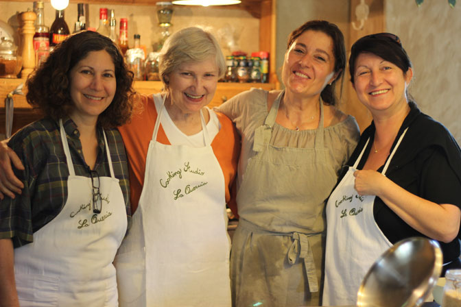 All smiles in Tuscany - Ultimate Girl's Getaway Culinary Tours - Delectable Destinations - Carol Ketelson