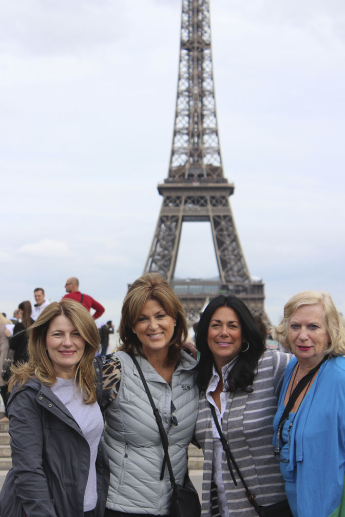 Eiffel Tower - We had a grand time in Paris! - Ultimate Girl's Getaway Culinary Tours - Delectable Destinations - Carol Ketelson