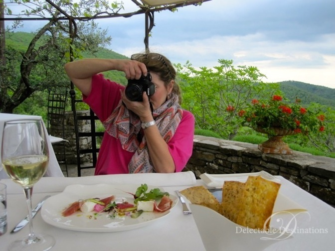 Food Photography - Tuscany Food Styling Photography - Delectable Destinations - Carol Ketelson
