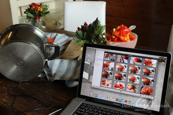 Food Styling and Photography - Tuscany Food Styling Photography - Delectable Destinations - Carol Ketelson