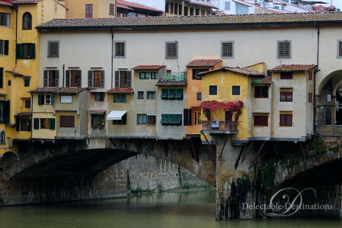 Ponte Vechio - Tuscany Food Styling Photography - Delectable Destinations -Carol Ketelson