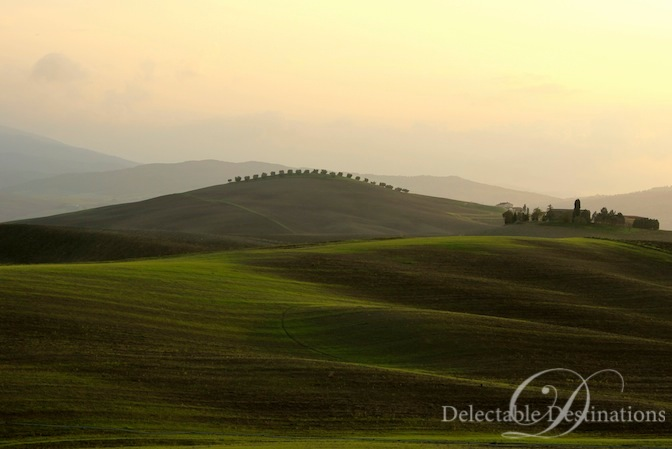 Tuscan Landsacpe - Tuscany Food Styling Photography - Delectable Destinations -Carol Ketelson