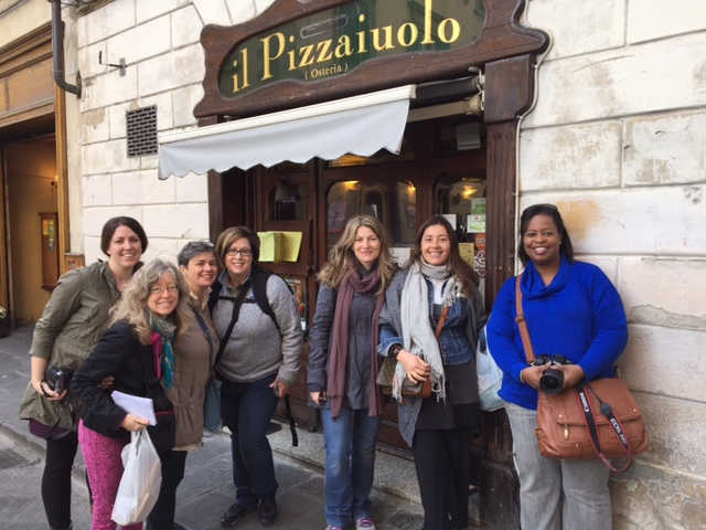Great group for our Food Styling & Photography & Culinary week in Tuscany - Memories 2014 Culinary Tours - Delectable Destinations - Carol Ketelson