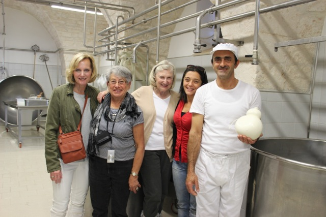 Cheese making in Puglia - Delectable Destinations Culinary Tour of Puglia - Carol Ketelson