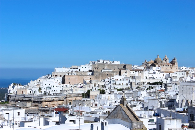"""The """"white city"""" of Ostuni in Puglia - Memories 2014 Culinary Tours - Delectable Destinations - Carol Ketelson"""