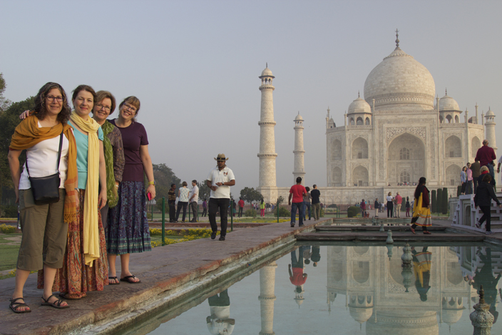 The magical Taj Mahal in Agra, India - Girls Getaway Luxury Travel Delectable Destinations Carol Ketelson