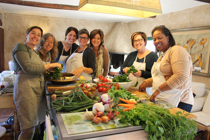 Hands-on cooking class at Villa La Quercia in Tuscany - Girls Getaway Luxury Travel Delectable Destinations Carol Ketelson