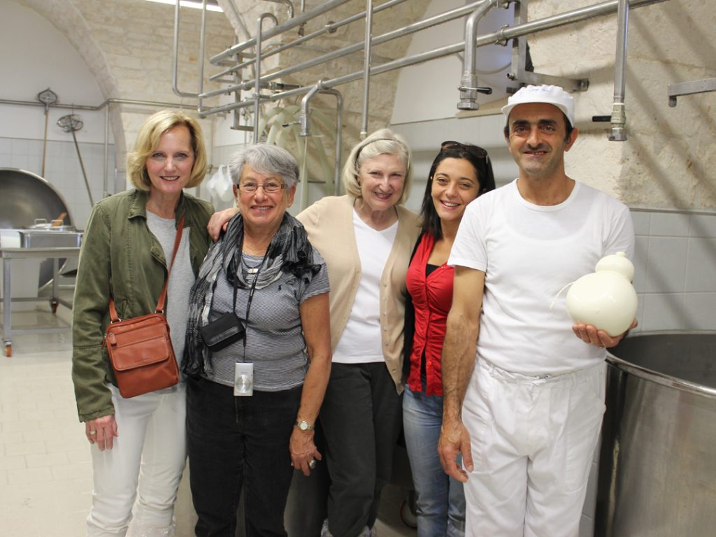cheese producer Puglia Italy Carol Ketelson Delectable Destinations Culinary Tours