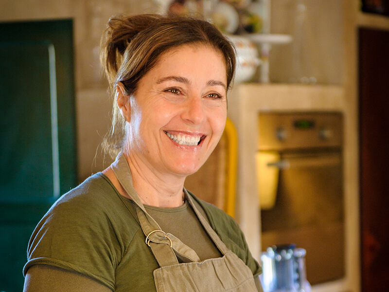 chef Veronica Villa la Quercia Tuscany Italy Carol Ketelson Delectable Destinations Culinary Tours