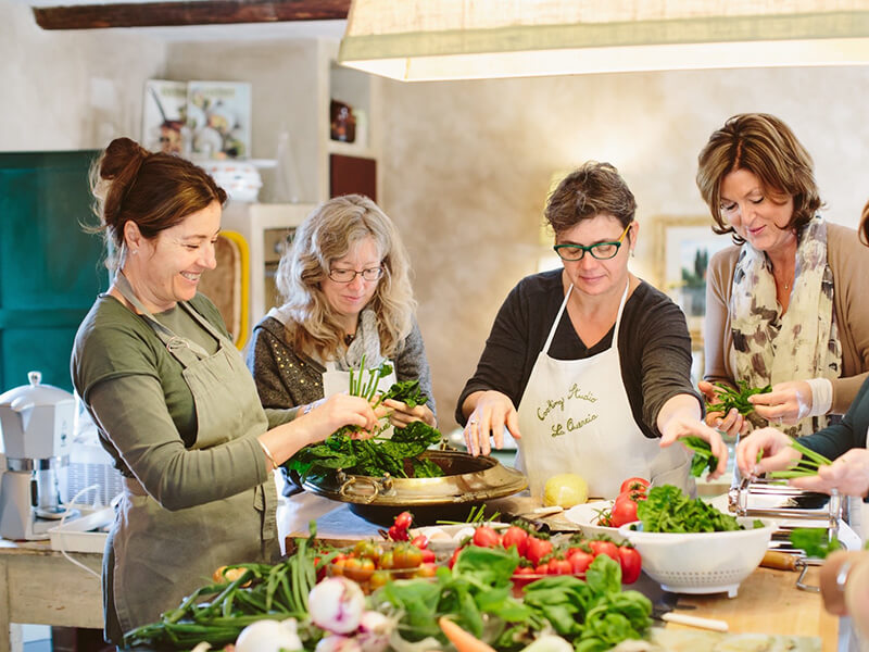 Chef Veronica Villa La Quercia Tuscany Cooking Classes Carol Ketelson Delectable Destinations Culinary Tours
