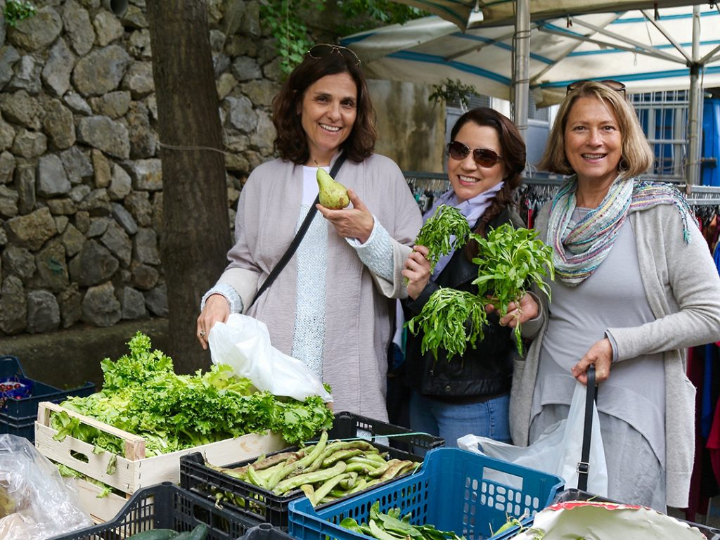 Chef Guided Market Tour Chef Rachel Reuben Italy Carol Ketelson Delectable Destinations Culinary Tours