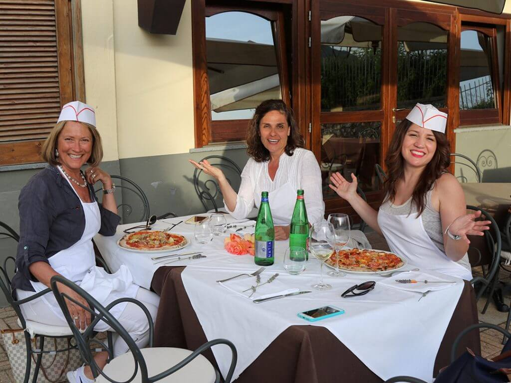 Pizza Wine Vineyards Tour Tramonti Italy Amalfi Coast Carol Ketelson Delectable Destinations Culinary Tours