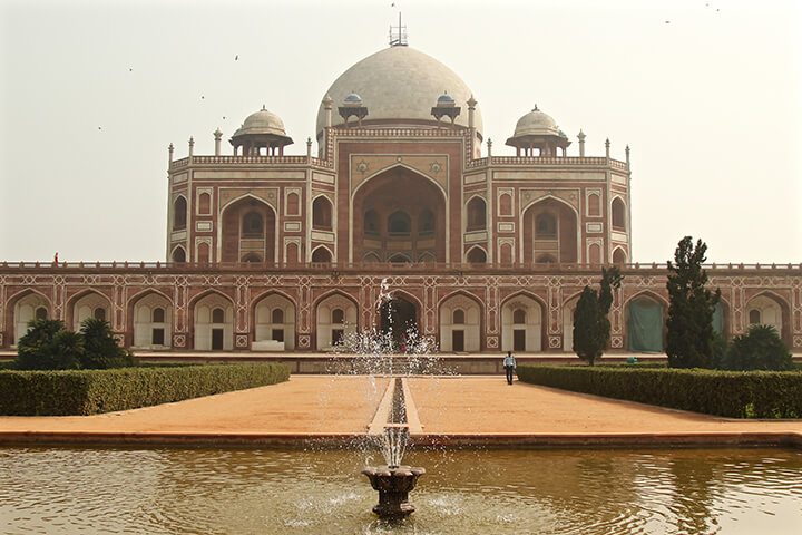 humayuns-tomb-delhi-india-carol-ketelson-delectable-destinations - Top 5 Reasons Visit India Golden Triangle