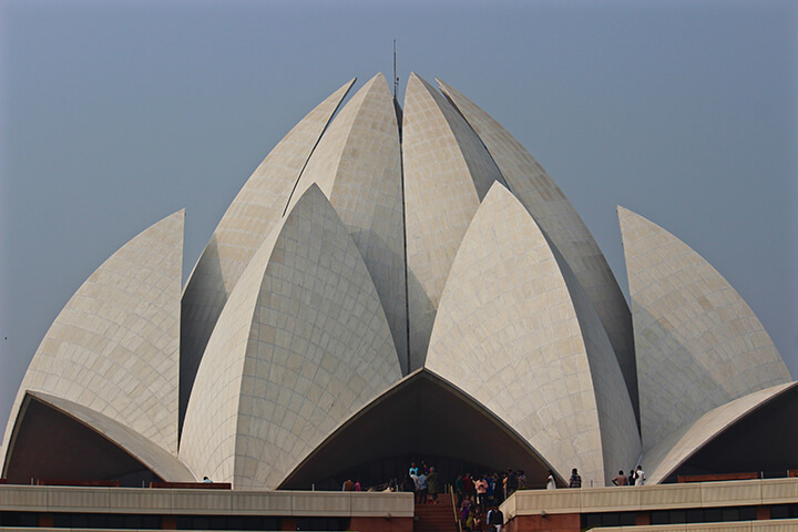 lotus-temple-delhi-india-carol-ketelson-delectable-destinations - Top 5 Reasons Visit India Golden Triangle