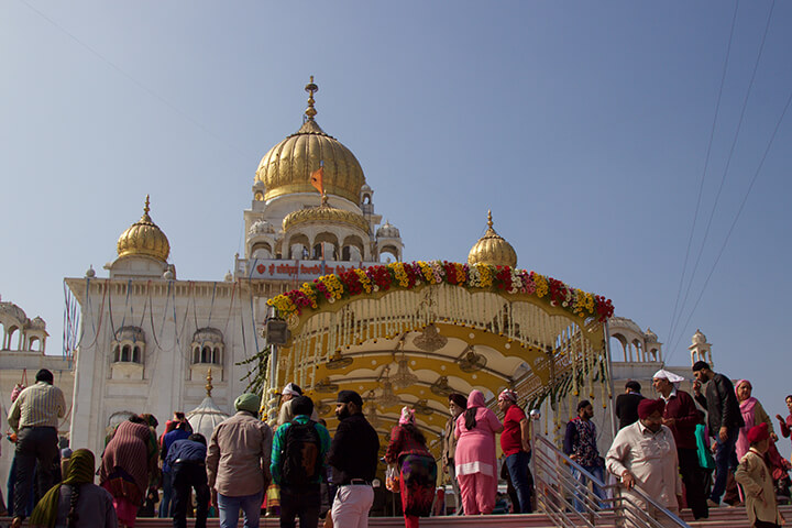 sikh-temple-in-delhi-india-carol-ketelson-delectable-destinations - Top 5 Reasons Visit India Golden Triangle