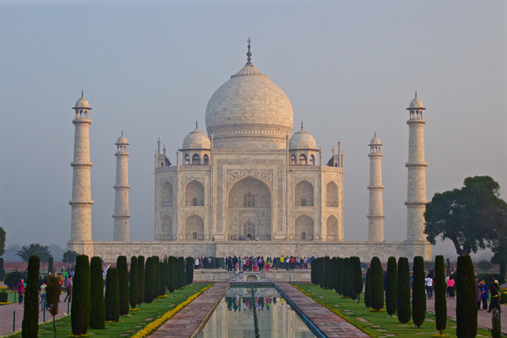 taj-mahal-agra-india-carol-ketelson-delectable-destinations - Top 5 Reasons Visit India Golden Triangle